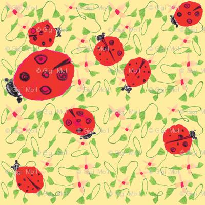 Ladybug dance peach