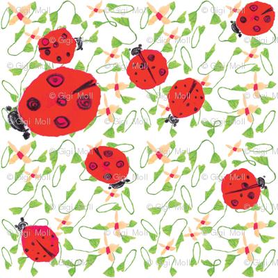 Ladybug dance white