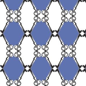 Key rhombus_cobalt blue