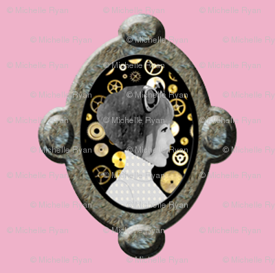 Cameo Girl Cogs Pink