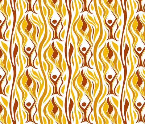 Cathy's Chalice fabric by fussypants on Spoonflower - custom fabric