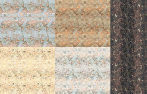 Romancing the World fabric by trirose on Spoonflower - custom fabric