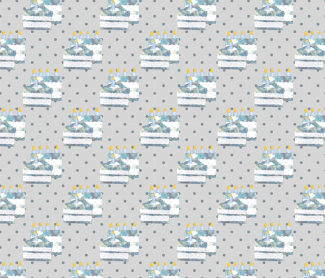 A piece of cake fabric by brandymiller on Spoonflower - custom fabric