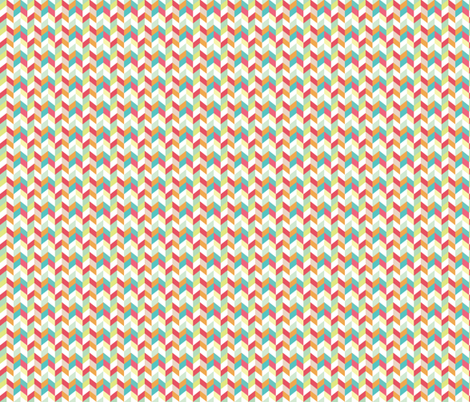 Multi Color Herringbone fabric by allisonkreftdesigns on Spoonflower - custom fabric