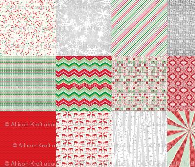 Christmas 2014 Pattern Sampler