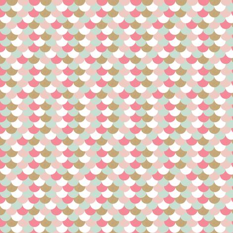 Mod Scallops fabric by allisonkreftdesigns on Spoonflower - custom fabric