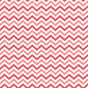 Shades of Pink Chevron