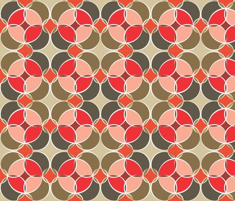 The drunken harvest fabric by krissymadrid on Spoonflower - custom fabric
