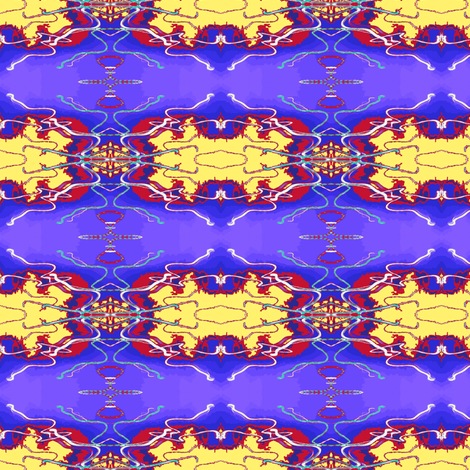 Chinese Lights fabric by robin_rice on Spoonflower - custom fabric
