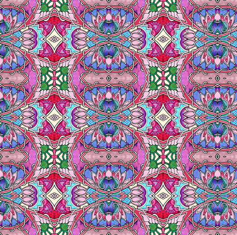 When I Get to Heaven fabric by edsel2084 on Spoonflower - custom fabric