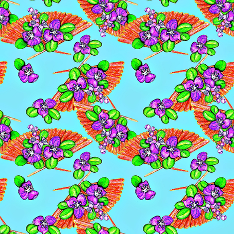 Fantasy fabric by suzhar on Spoonflower - custom fabric