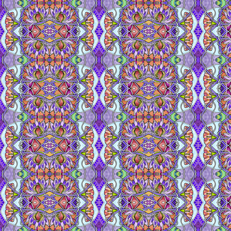 The Quilted Garden fabric by edsel2084 on Spoonflower - custom fabric
