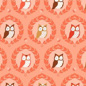 Sweet Owlies - Peach