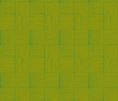 wovn lauhala mat, olive on dak green fabric by sophista-tiki_by_dawn_frasier on Spoonflower - custom fabric