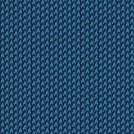 Blue Delta fabric by risu on Spoonflower - custom fabric