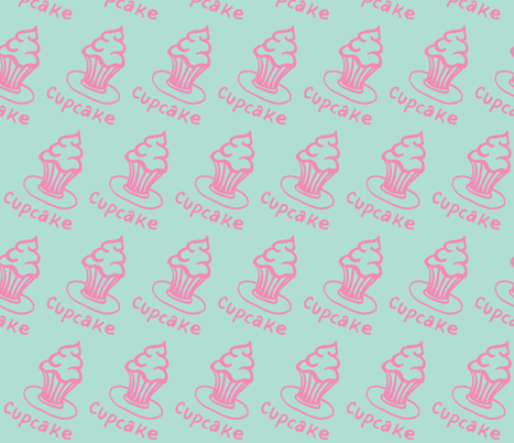 Cupcake fabric by painter13 on Spoonflower - custom fabric