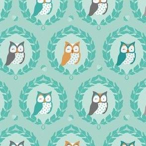 Sweet Owlies - Aqua
