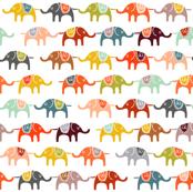 elephant march wallpaper