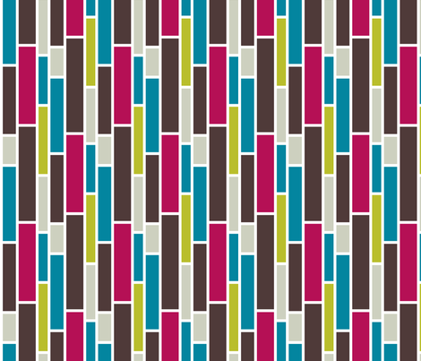 Bold Subway fabric by pearl&phire on Spoonflower - custom fabric