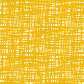 Yellow Crosshatch