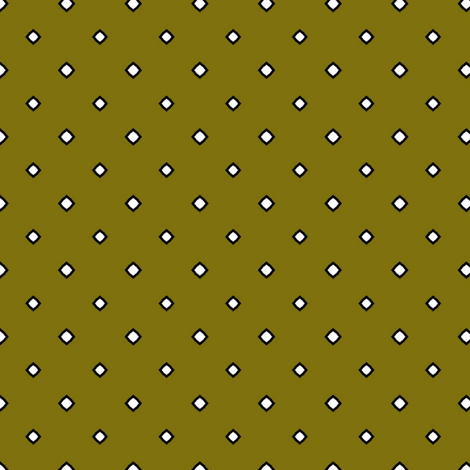 Diamonds in Olive fabric by captiveinflorida on Spoonflower - custom fabric