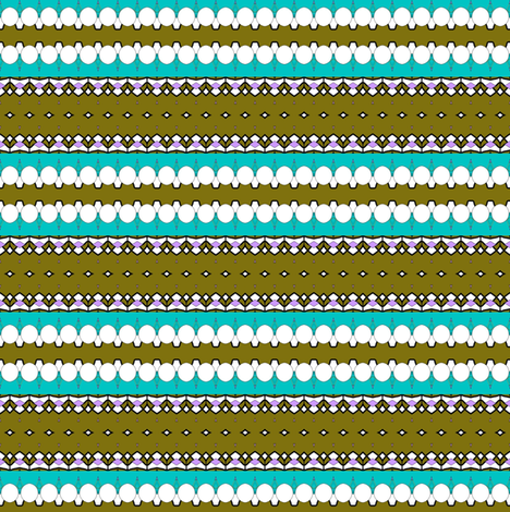 Diamonds in Olive Stripes fabric by captiveinflorida on Spoonflower - custom fabric