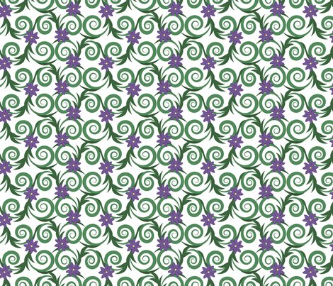 Green-and-purple-scroll-_-leaves-border-using-brush-with-flowers-from-lightened-stroke-square-solid-heavy-b_w-stroked---tripple-scale-cleaned-up-flower-from-16-color-small-naked-spray-of-red-roses-as-template-p4g-rotated29_shop_preview