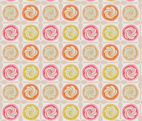 HAPPY SNACK fabric by glorydaze on Spoonflower - custom fabric