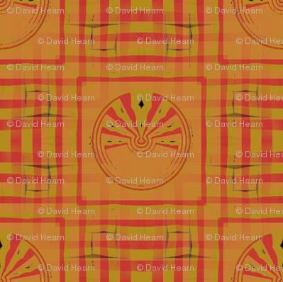 Gingham World (Red Medallion)