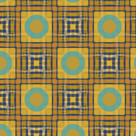 Gingham World (Hanky Panky) fabric by david_kent_collections on Spoonflower - custom fabric