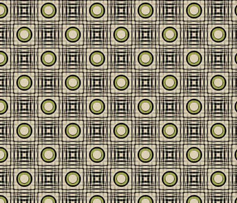 Gingham World (Chartreuse) fabric by david_kent_collections on Spoonflower - custom fabric