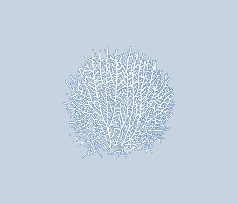 Sea Fan - Fat Quarter fabric by mandyd on Spoonflower - custom fabric