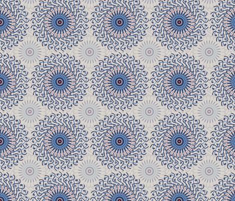 Mandalay fabric by rwpattern on Spoonflower - custom fabric
