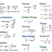 Physics Formulas