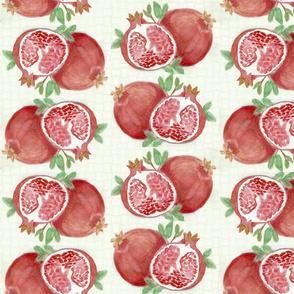 Green pomegranite