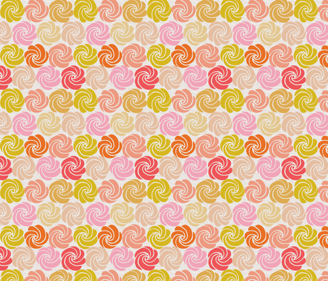 HAPPY SWIRL fabric by glorydaze on Spoonflower - custom fabric