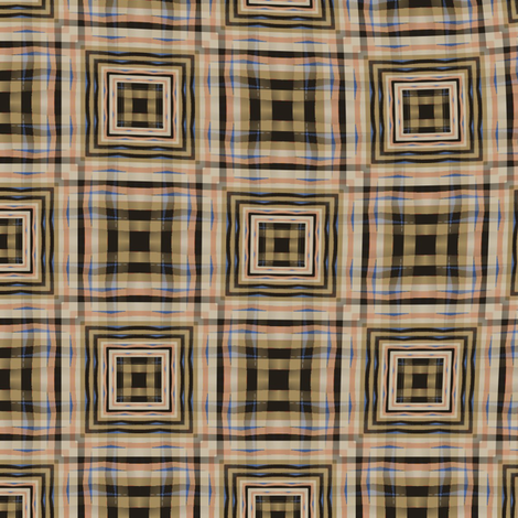 Gingham World (Morocco) fabric by david_kent_collections on Spoonflower - custom fabric
