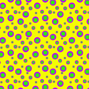 Bubble Dots Yellow