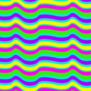 Rainbow Flow Aqua