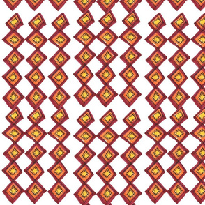 French_Pom_Check_Pattern_Rows_White