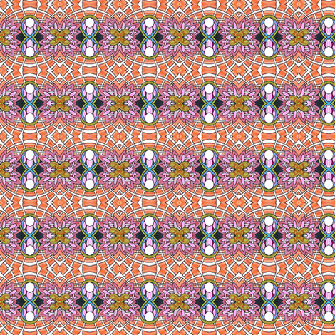 A Tisket, A Tasket, An Abstract Posey Basket fabric by edsel2084 on Spoonflower - custom fabric