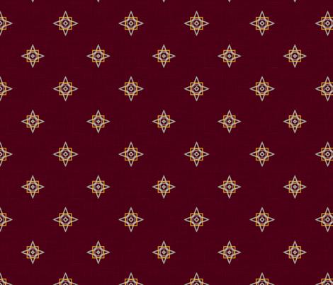 Kashmir ditsy fabric by rwpattern on Spoonflower - custom fabric