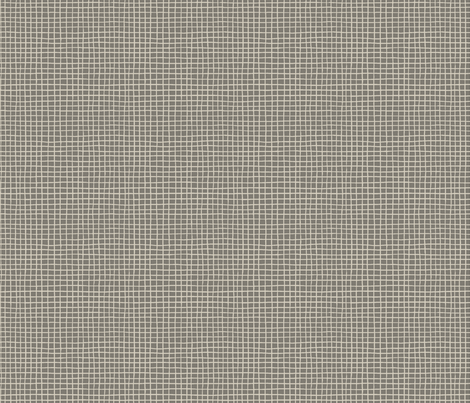 POMEGRANATE_GRID DARK GREY fabric by glorydaze on Spoonflower - custom fabric