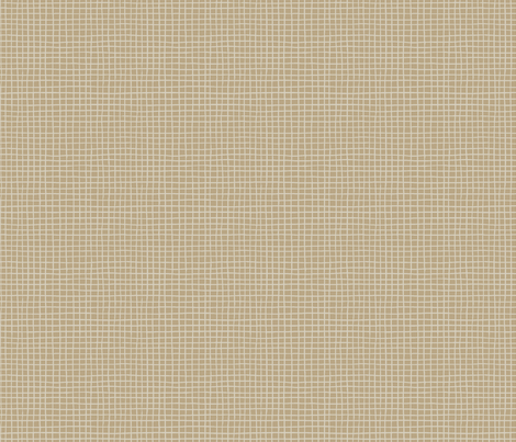 POMEGRANATE_GRID beige fabric by glorydaze on Spoonflower - custom fabric