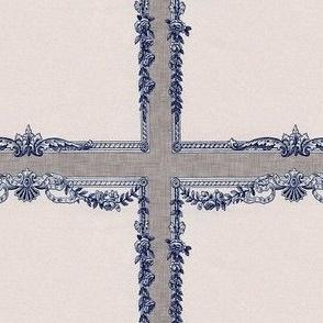 Vintage Ephemera Frame patches/tags