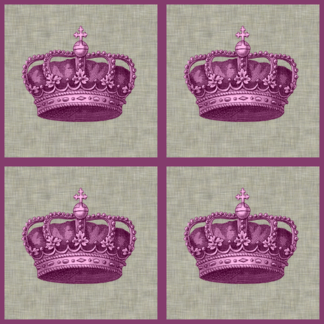 Princess Patch fabric by glanoramay on Spoonflower - custom fabric