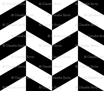 Chevron Black & White