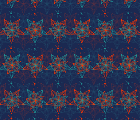 Stars & Stripes by Patternjots fabric by patternjots on Spoonflower - custom fabric