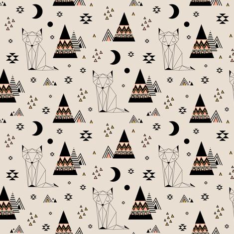 Distant Planet (small) fabric by kimsa on Spoonflower - custom fabric