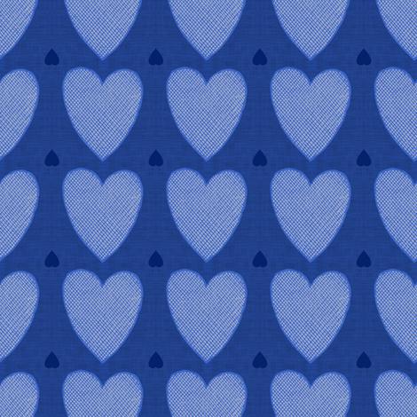 Hearts fabric by brainsarepretty on Spoonflower - custom fabric